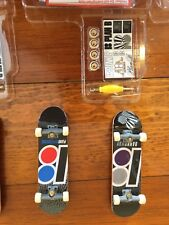 Tech Deck 6 Finger boards Plan B Skateboards, tools, stickers, and wheels