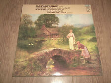 IAN PARTRIDGE SINGS ~ SCHUBERT / SCHUMANN 2 X VINYL LP GATEFOLD NR MINT