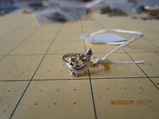 gecko Ring Sterling Silver  sz  7 .5