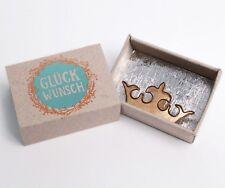 Bonjour Old Friends petit Wunschbox Félicitations BONNE CHANCE Boîte Cadeau