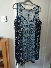 Ladies Saltrock Dress Blue Size 16/18 New With Tags
