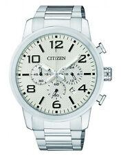 Citizen AN8050-51A Mens Chronograph Watch WR50m NEW RRP $350.00