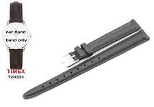 Timex Ersatzarmband T2H331 Easy Reader Ersatzband 12mm Leder - fit T2H351 T2H371