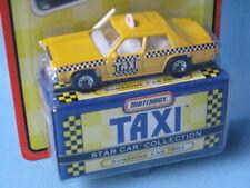 Matchbox Star Coche Taxi TV Series Sunshine Cab 804 Juguete Modelo 75mm en BP