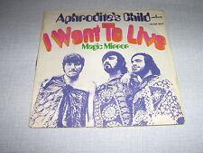 APHRODITE'S CHILD 45 TOURS GERMANY MAGIC MIRROR
