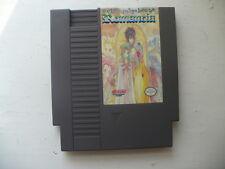 NTSC Nes ROMANCIA Dragon Slayer Jr reproducción de juego de carro de RPG INGLÉS