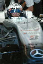 Sam Bird Hand Signed Mercedes Photo 12x8 11.