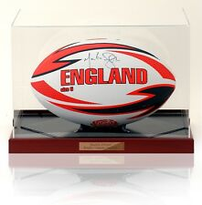 MARTIN OPET signé à la main L'angleterre Balle Ballon Rugby AFTAL