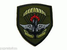 Patch Scudetto 8°Rgt Guastatori Paracadutisti Verde per Mimetica Vegetata Milita