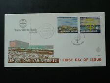 radio Bonaire FDC 1970 Netherlands Antilles 87071