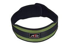ARD Weight Lifting Belt Gym Workout Power Lifting Back Support Green