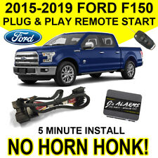 2015-2019 Ford F-150 Remote Start Plug & Play Install F150 No Horn Honk FO2N