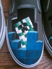 Minecraft Hand Painted Custom Kicks (Unofficial MC product)