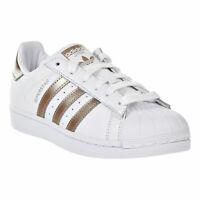 ADIDAS Women's Superstar Shoes White-Cyber Metallic CG5463 sz 10