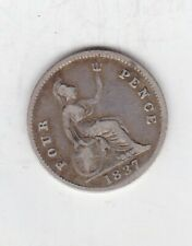 More details for 1837 william iv four pence in good fine condition