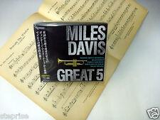 ESOTERIC SACD/CD Hybrid MILES DAVIS GREAT 5 ESSS-90154/58 (5 discs) Box set  NIB