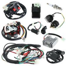 Quad Electric Spark Plug Switch Razor CDI Coil Wire Harness