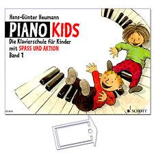 Piano Kids 1 - Klavierschule mit NotenKlammer - ED8301 - 9783795751623