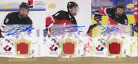 15-16 Team Canada Juniors Anthony Beauvillier /199 Auto Patch Upper Deck 2015