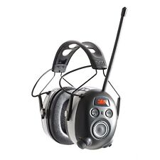3M 90542-3DC WorkTunes Black Wireless Hearing Protector Bluetooth & AM/FM Radio