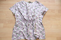 BODEN  summer silk spotted  top size 14