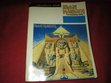 IRON MAIDEN TABLATURE POWERSLAVE SIGNATURE LICKS NO CD IRON MAIDEN TAB SONGBOOK