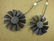 2pcs 95mm cooler fans  for ASUS DUAL-RX580-4G/8g graphics card bitcoin 4Pin
