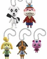 takaratomy-arts Animal Crossing Gashapon 5set mascot capsule toys Complete set