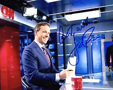 GFA Anchor of CNN * JAKE TAPPER * Signed Autograph 8x10 Photo PROOF AD2 COA