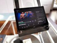 Für Lenovo Smart Tab M10 FHD Plus Halter Ständer Halterung flexibel 360° drehbar
