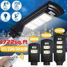 2400W 999000LM Solar Street Light PIR Motion Sensor Outdoor Garden Wall Lamp