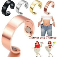 Magnetic Adjustable Healthcare Weight Loss Ring Slimming Healthy Ring Jewelry