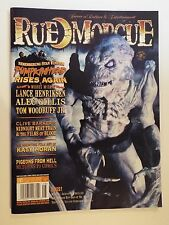 NEW-rue morgue issue 81 august 2008-horror-clive barker-pumpkinhead-thriller