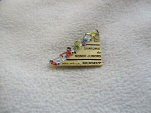 26th Junior Rugby World Championship pin