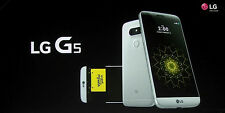 NEW UNLOCKED LG G5 SILVER H820 AT&T 32GB GLOBAL GSM 4G LTE Android Phone Quad HD