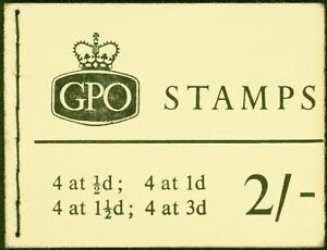 GB 1964 Dec 2s Wilding Booklet SGN19 Fine & Complete