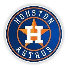 Houston Astros Round (Blue) Decal / Sticker Die cut