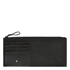 Montblanc Nightflight Slim Document Case Pouch Wallet Ballistic Weave/Leather