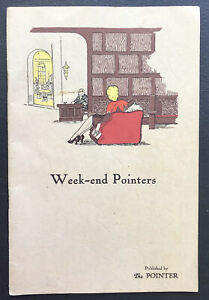 1932 Book Weekend Pointers US Military Academy West Point The Pointer Guide
