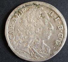 30 Kreuzer 1/2 Gulden 1732 Bayern Karl Albrecht alte antike Silber Münze
