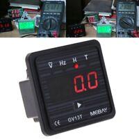 GV13T AC220V Generator Digital Voltmeter Frequency Hour Test Panel Meter