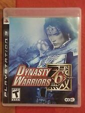 Dynasty Warriors 6 PS3 Playstation 3 (2008) LN