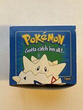 Pokemon Togepi Blue Box Burger King Promo - BOX ONLY