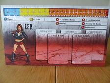 Zombicide-LEA-Carattere Pannello Di Controllo Card (solo scheda)