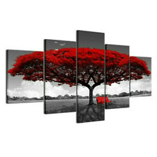 5pcs Unframed Abstract Art Canvas Oil Painting Picture Print Home Wall Decor New