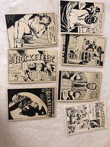 Dave Stevens Rocketeer Set 2 Postcards 1984