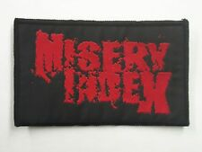 MISERY INDEX DEATH METAL WOVEN PATCH