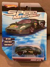 Hot Wheels Speed Machines Jaguar XJ220 Green ~NICE~
