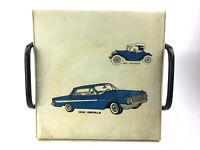 Vintage Mid Century Chevrolet Chevy Impala Car Dealership Vinyl Stool