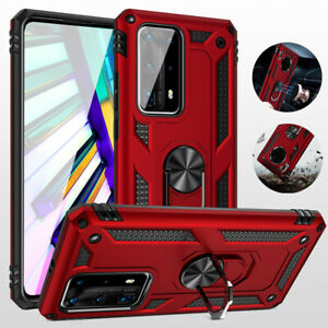 Shockproof Magnetic Ring Holder Cover Case for Huawei P30 P40 Mate20 30 Pro Lite